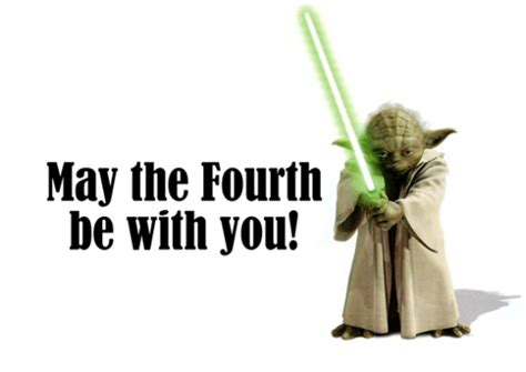 Mat The 4th Be With You - may the 4th be with you barefoottc