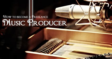 How To Become A Freelance Music Producer  Salaries  Music Video Producer