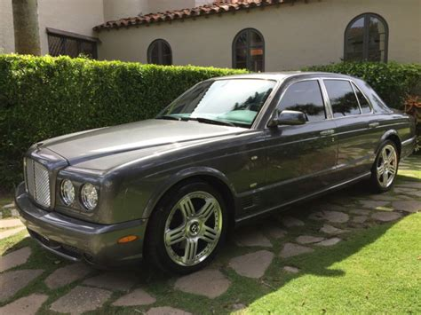 manual cars for sale 2009 bentley arnage on board diagnostic system purchase used 2009 bentley arnage t final series mulliner 1 of 150 in land o lakes florida