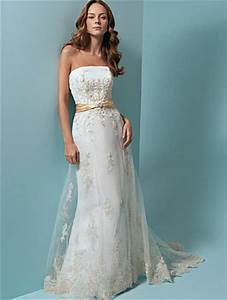 strapless lace summer wedding dresswedwebtalks wedwebtalks With summer lace wedding dress