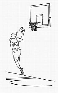 Basketball Hoop Coloring Pages Getcoloringpagescom