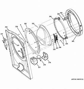 Ge Model Gfwh1400d0ww Residential Washers Genuine Parts