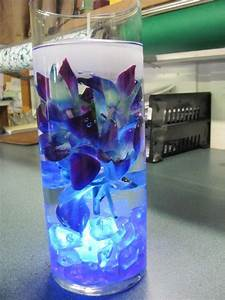 Blue dendrobium orchid centerpiece. | Fortino's Flowers ...