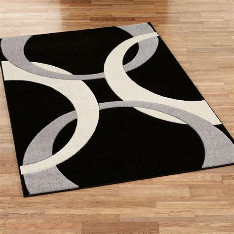 and black area rugs corfu contemporary black area rugs 7659