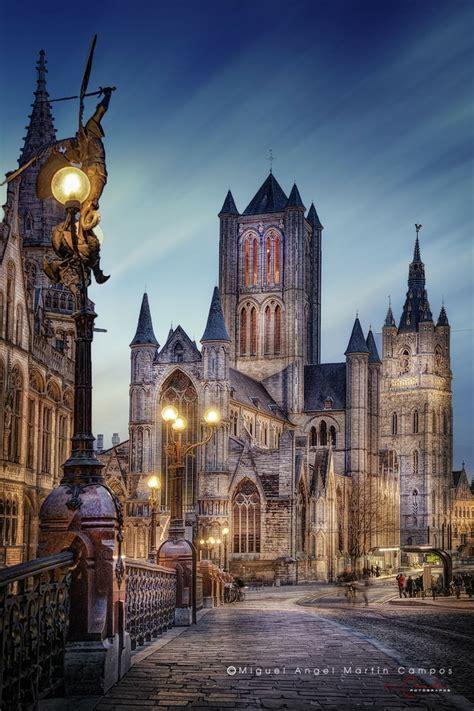 Saint Nicholas Ghent Belgium Beautiful Churches