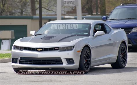 2018 Chevrolet Camaro Spied In Zl1 1le Rs Forms