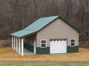 build a pole barn w no experience doityourselfcom With build your own pole barn