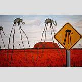 Surrealism Salvador Dali Elephants | 1920 x 1200 jpeg 703kB