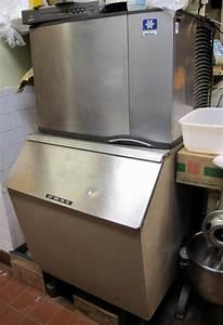 Manitowoc S Model Ice Machine Sy0455w Series 110125110 W