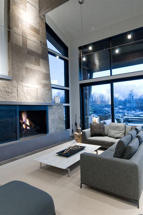 'mountain Modern' Home In Deer Valley, Utah Feels Like The