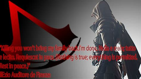 Ezio Death Quotes