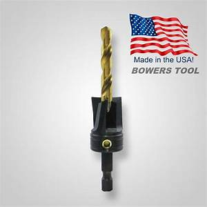 Snappy Flat Bottom Counterbore Countersink 1/4 in. Drill ...