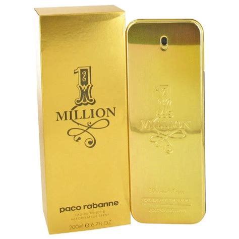million eau de toilette 1 million by paco rabanne eau de toilette spray 6 7 oz for perfumei