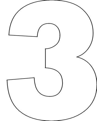 number stencils no 1 f 246 ndur fyrir leiksk 243 lab 246 rn free printable numbers number template