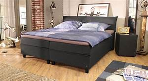 Nachttisch Für Boxspringbett Anthrazit : modernes tom tailor color design boxspringbett mit kopfteil ~ Michelbontemps.com Haus und Dekorationen