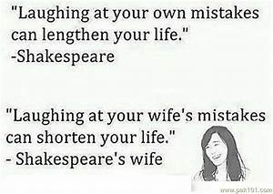Funny Wife Quot... Fun Wife Quotes