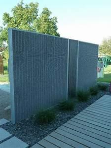 Mur De Cloture En Gabion : cl ture gabion tr s fine pr te poser stonefence ~ Edinachiropracticcenter.com Idées de Décoration