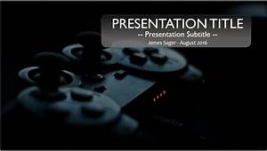 Free game controller powerpoint template 9822 sagefox for Video game powerpoint template