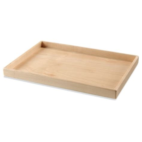 Large Wooden Tray  Montessori Services