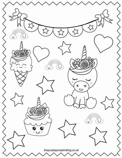 Unicorn Coloring Pages Printable Sweet Colouring Super