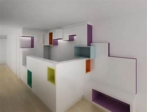 meubles de createurs et design d39amenagement interieur With meuble design sur mesure