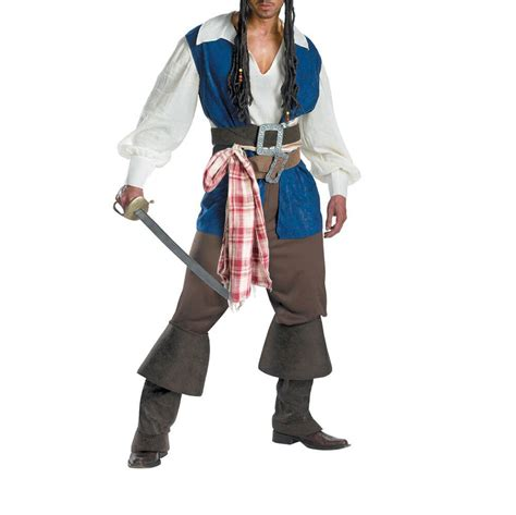 Efl Pirates Of The Caribbean Cosplay Mens Halloween Party
