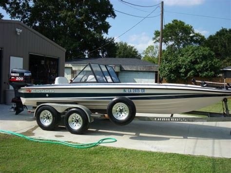 Ragin Cajun Bass Boat by 1994 Ragin Cajun Bass Boat For Sale In Houma Louisiana