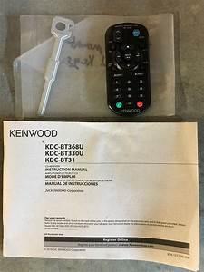 Ohio Kenwood Kdc-bt368u Cd-receiver