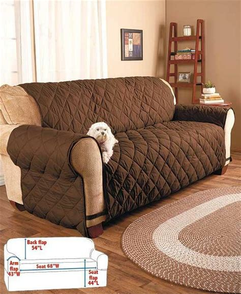 Sofa Protector For Sectional by Quilted Plumped Fabric Furniture Sofa Loveseat Chair