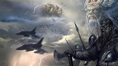 Viking Wallpapers Norse Vikings Backgrounds Odin Gambar