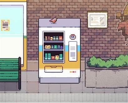 Vending Machine Anime