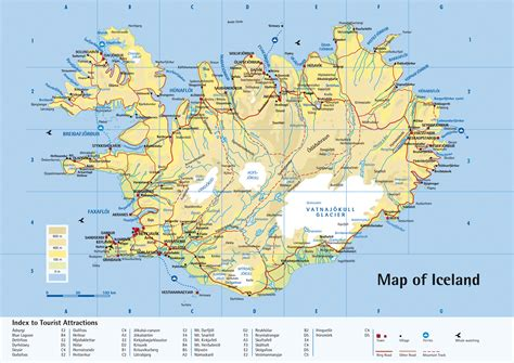 Maps Of Iceland  Map Library  Maps Of The World