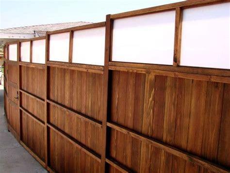 custom wood fence    ft plexiglass upper www