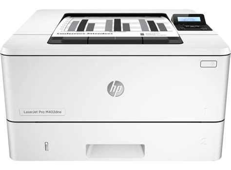 This printer can also be used for a variety of operating systems, such. Hp Laserjet pro M402dne scheda tecnica | Stampanti HP
