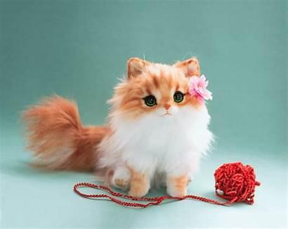 Fluffy Kitten Toy Handmade Deviantart Malinatoys Poseable