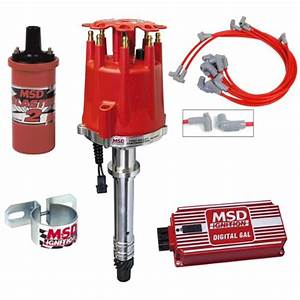 Msd Complete Ignition Kit Chevy Sbc Digital 6al