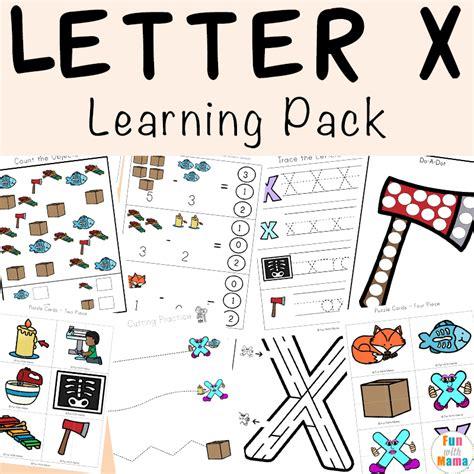 letter x worksheets for preschool kindergarten 212 | Letter X Learning Pack Ia