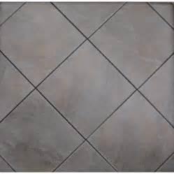 shop style selections jackson ridge black glazed porcelain indoor outdoor floor tile common 12