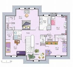 maison familiale 6 detail du plan de maison familiale 6 With wonderful plan maison demi etage 4 maison familiale 9 detail du plan de maison familiale 9