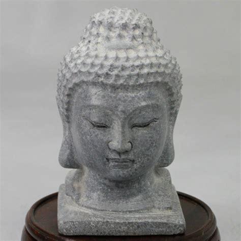 buddha kopf für garten buddha kopf stein klein garten deko xishi de