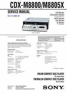 Sony Cdx Gt350mp Wiring Diagram