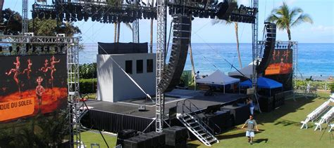 rolling storage carts concert stages concert stage design staging concepts