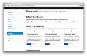 Twitter Bootstrap: How to print Thumbnails as same as ...