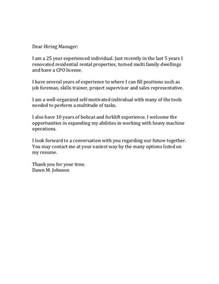 Dear Hiring Manager Resume by Dear Hiring Manager Cover Letter Sle 28 Images Stylish