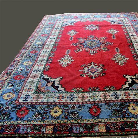 tapis marocain rabat fait