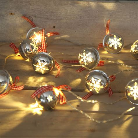 jingle bells christmas garland light by red berry apple