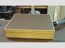 Benchtop Sanding Table, Downdraft Table