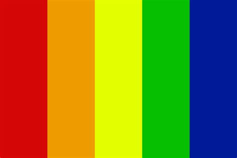 lgbt flag colors lgbt flag color palette
