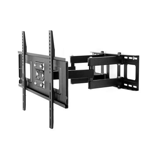 tv on wall mount fleximounts motion articulating tv wall mount bracket