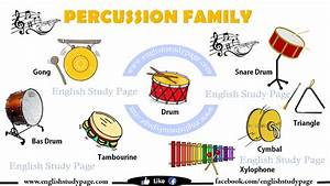 Musical Instruments in English – English Study Page